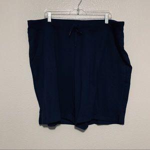 Athletic Works Navy Blue Shorts